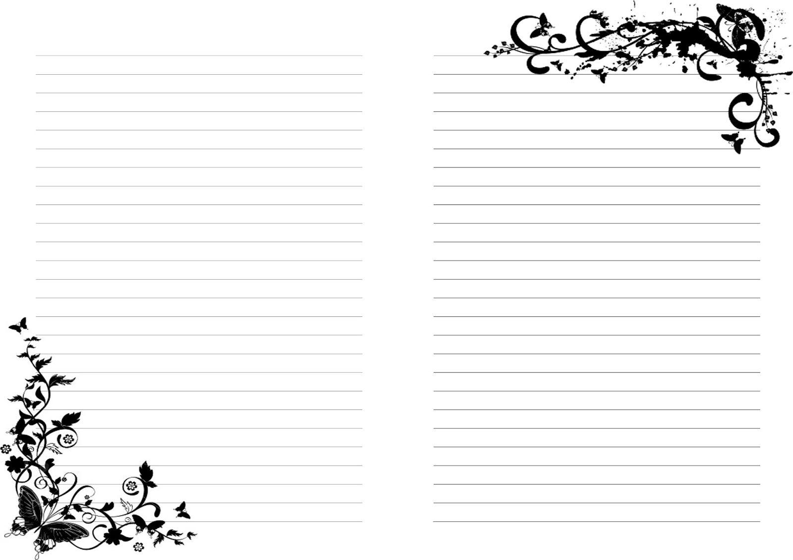 картинки для заметок черно белые видом хвойника украшают