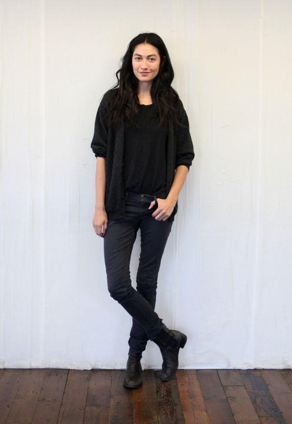 Jessica Mau, model off duty. http://blog.freepeople.com/2012/12/free-people-models-duty-3/