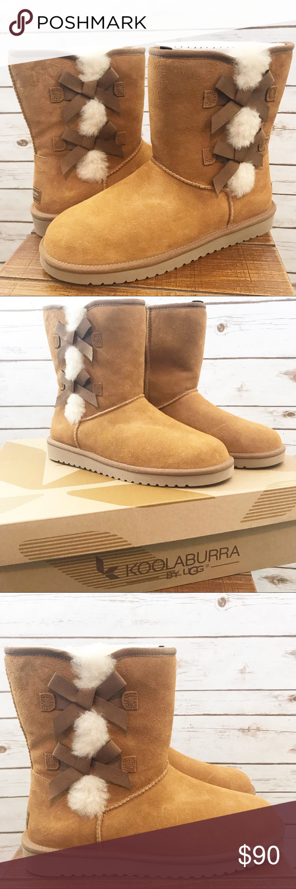 1b30ea6e914 Kookaburra by UGG Size 11 Chestnut Victoria Boots New with the box ...
