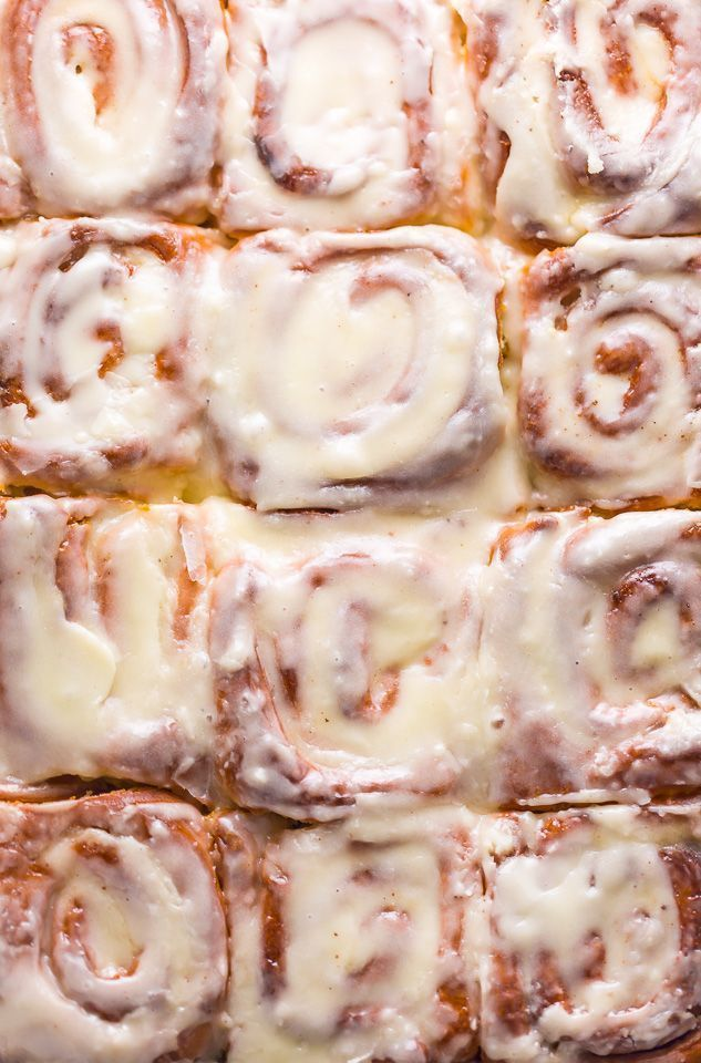 The Best Easy Overnight Cinnamon Rolls - Baker by Nature