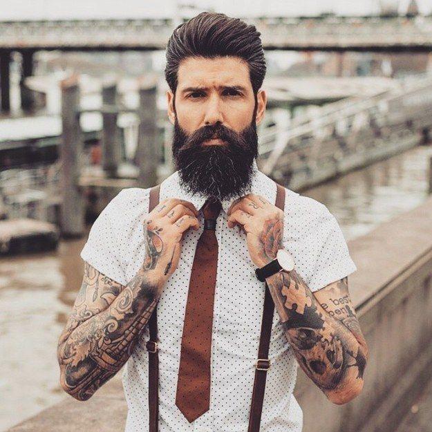 Qué elegancia:   Men's Style   Ropa hipster hombre, Barbas ...