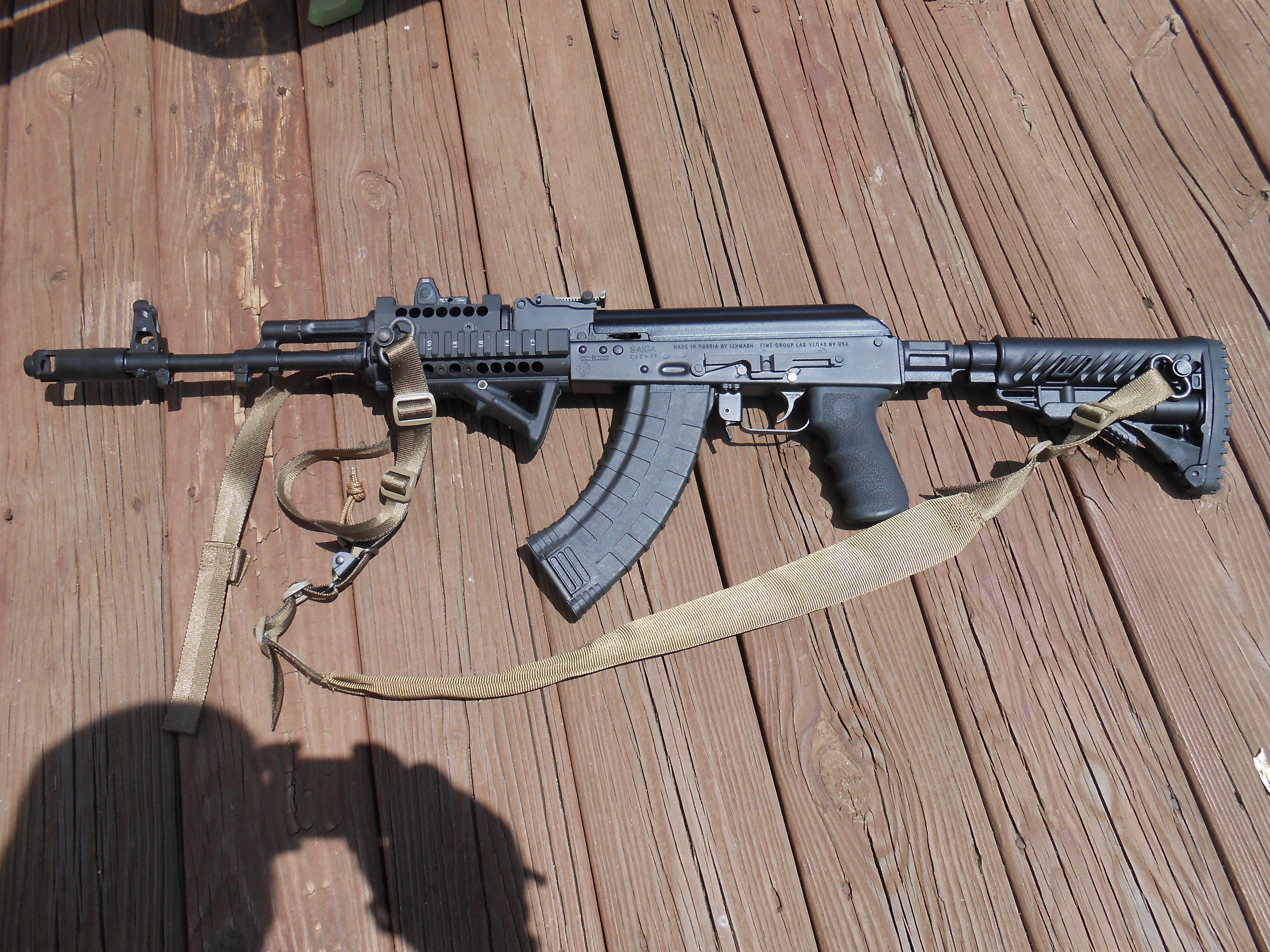 Arsenal/FIME Group SGL-21/AK-103  Mako recoil reducing stock