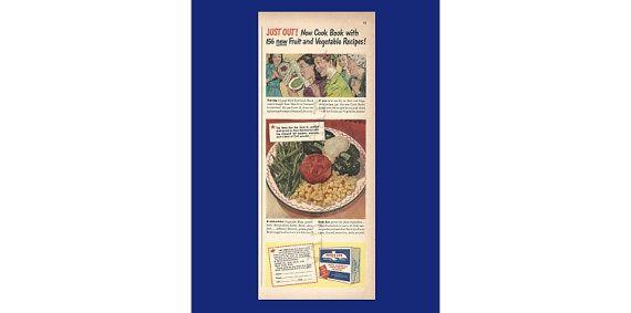 Birds Eye Frozen Foods Original 1943 Vintage by VintageAdarama