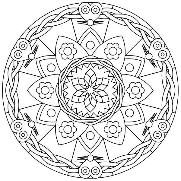 Free Printable Mandalas
