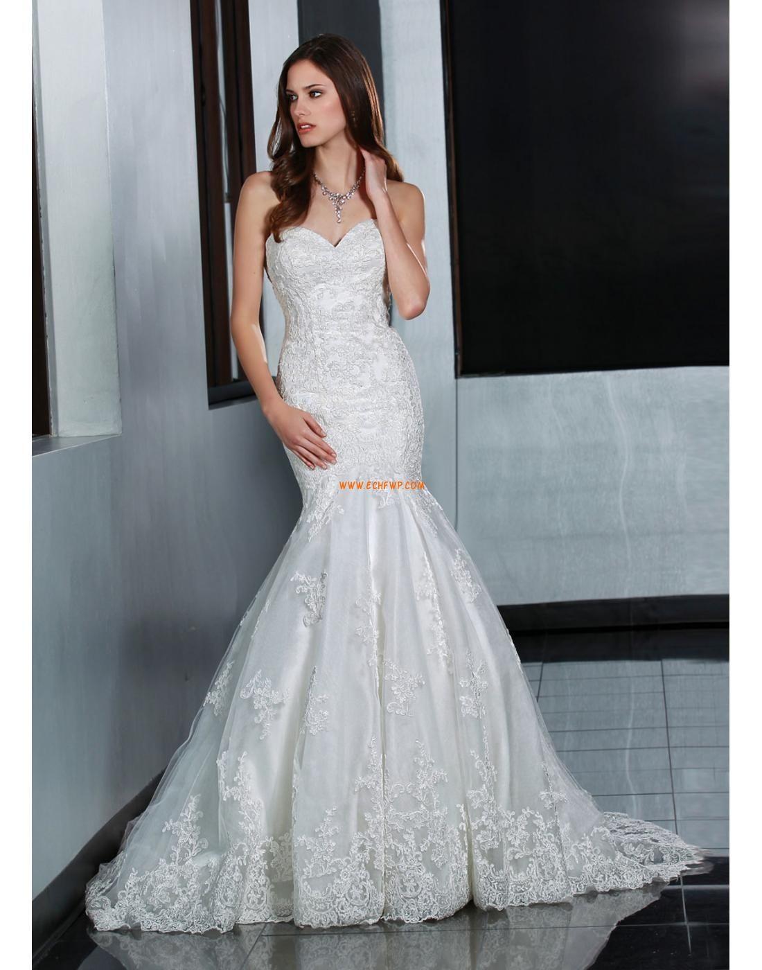 Kjæreste plus sizes høst vintage bryllupskjoler brudekjoler