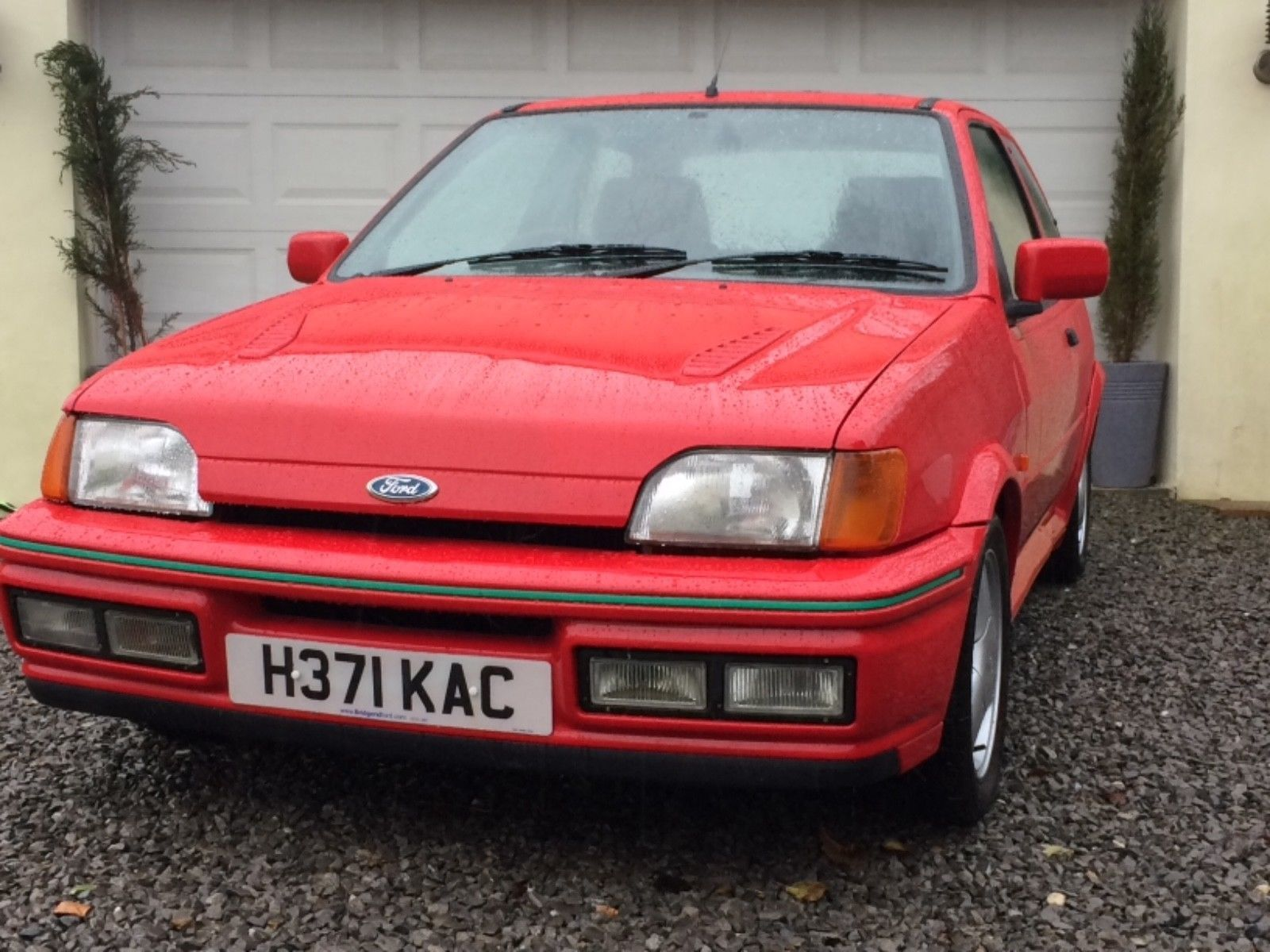 1990 Ford Fiesta Rs Turbo Mk3 Ford Fiesta Turbo Car Ford