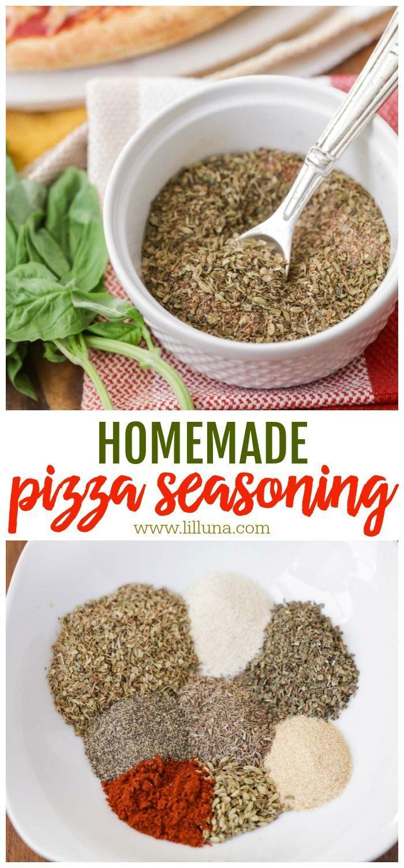 Homemade Pizza Seasoning Recipe | Lil' Luna
