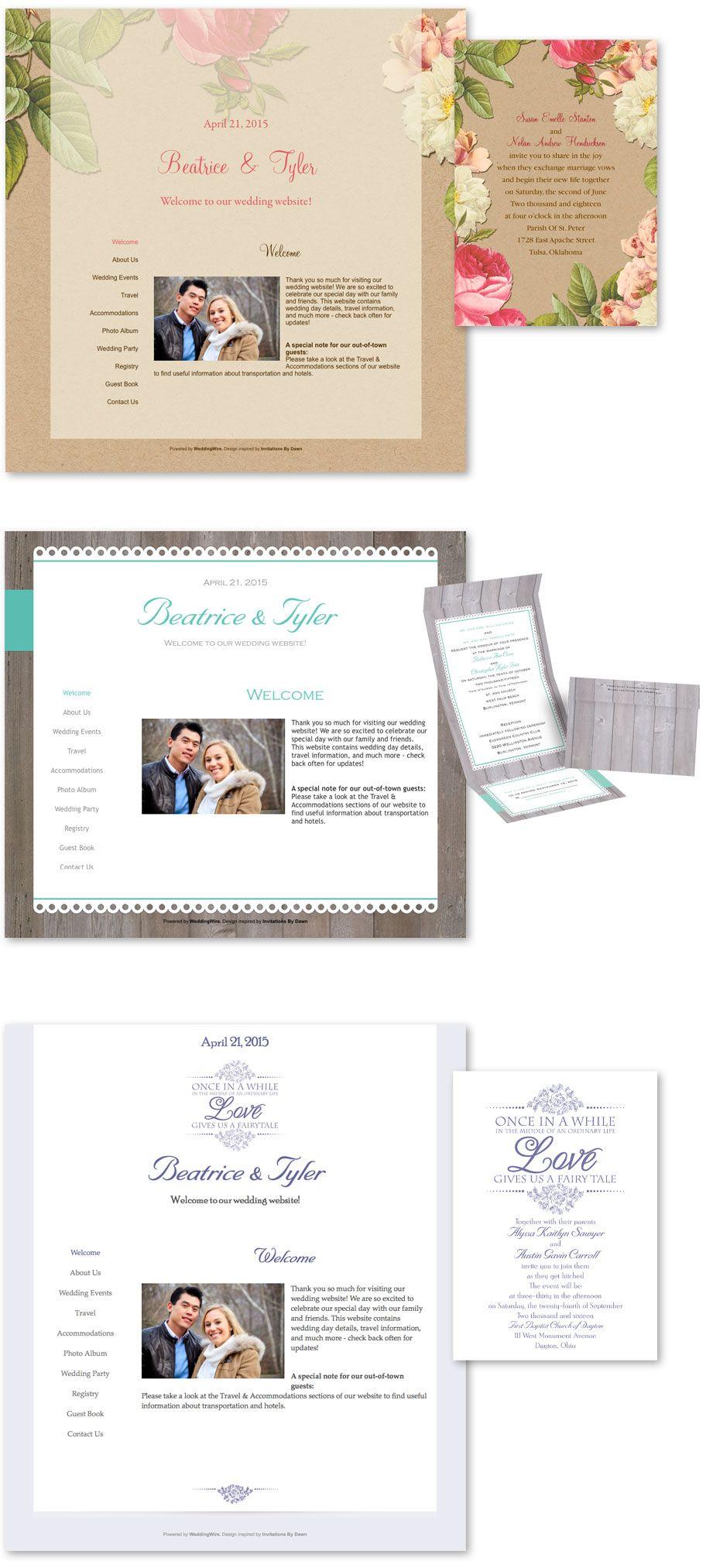 Wedding Wire Websites Wedding Invitation Website Custom Wedding Invitations Wedding Invitations
