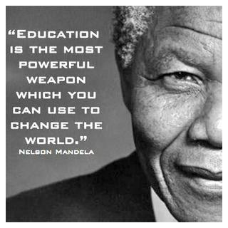 L éducation Est L Arme La Plus Puissante Que Vous Pouvez