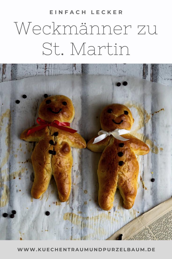 Weckmann Rezept zu St. Martin – Küchentraum & Purzelbaum  – Yummy food/drinks