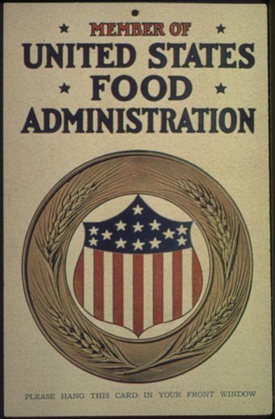 Food As War Weapon Usa In The Wwi Propaganda American