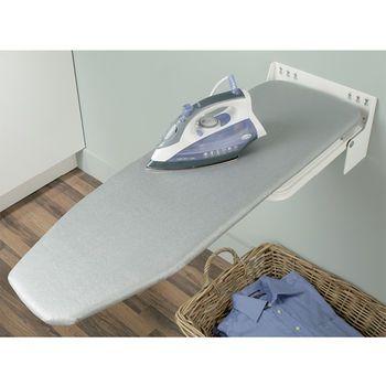 laundry drop down ironing board | Hafele Ironfix™ Wall Mount Ironing Board | KitchenSource ...