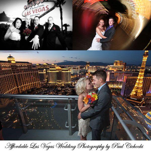 Wedding Venues Near Me Cheap: Cosmo Balcony Wedding, Vegas Sign And Creative Strip Shot
