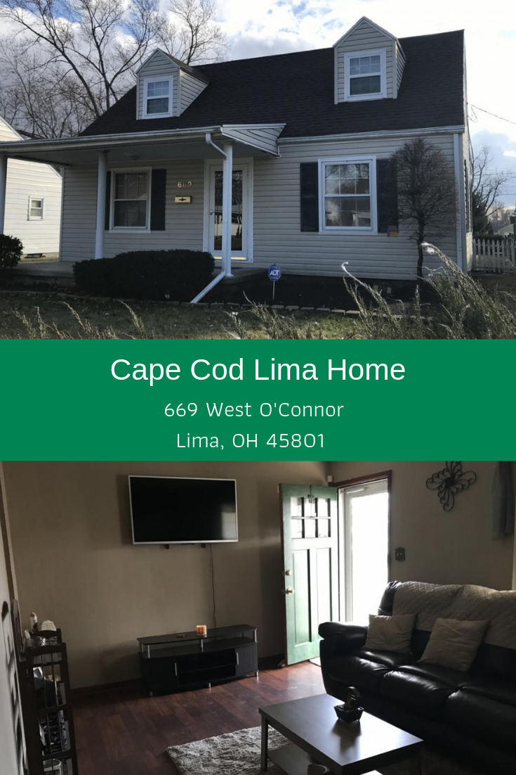 This Cozy And Comfortable Home Offers 3 Bedrooms A Full Basement A 1 Car Detached Garage And A Spacious Partial Privacy Fenced In Ba Cape Cod Home Modern