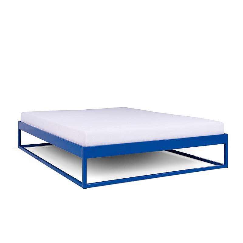 Simplex Das Schlichte Bett Ohne Kopfteil 160x200 Metallbett 140x200 Kopfteil Bett Bettgestell Aus Metall
