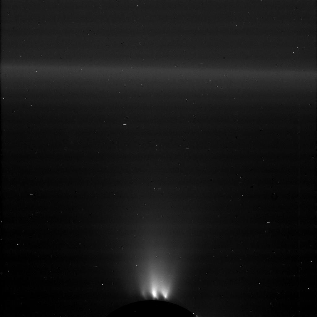 ENCELADUS - Taken on October 28, 2015 and received on Earth October 30, 2015 (This image has not been validated or calibrated. A validated/calibrated image will be archived with the NASA Planetary Data System in 2016.) - Image Credit: NASA/JPL-Caltech/Space Science Institute