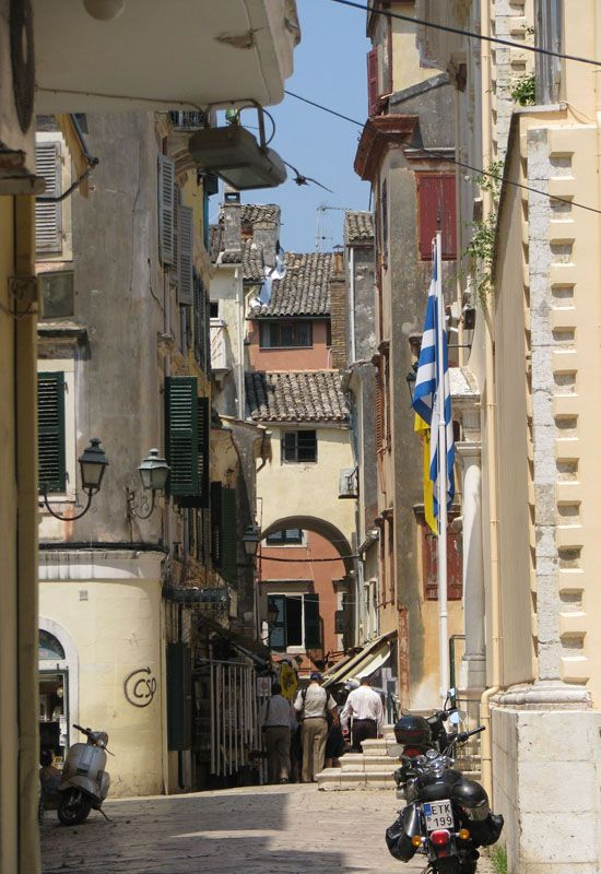 The streets of Corfu - Corfu, Kerkyra