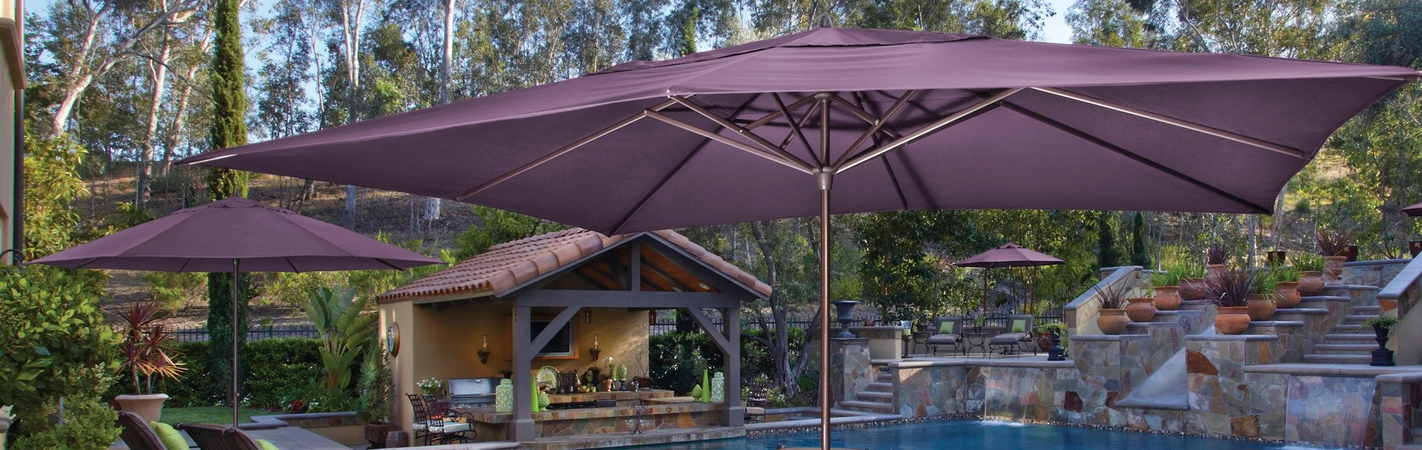 Find Your Perfect Patio Umbrella. Use Our Guide To Help Understand The  Different Types Of