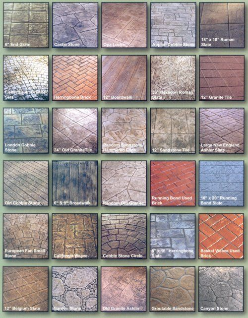 How To Get A Raise At Work Stamped Concrete Patterns