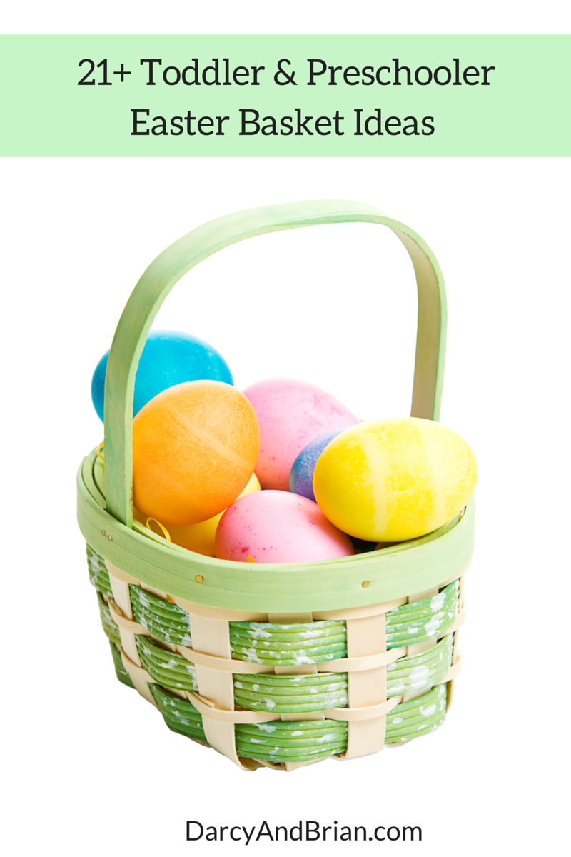 21 easter basket gift ideas for toddlers and preschoolers negle Choice Image