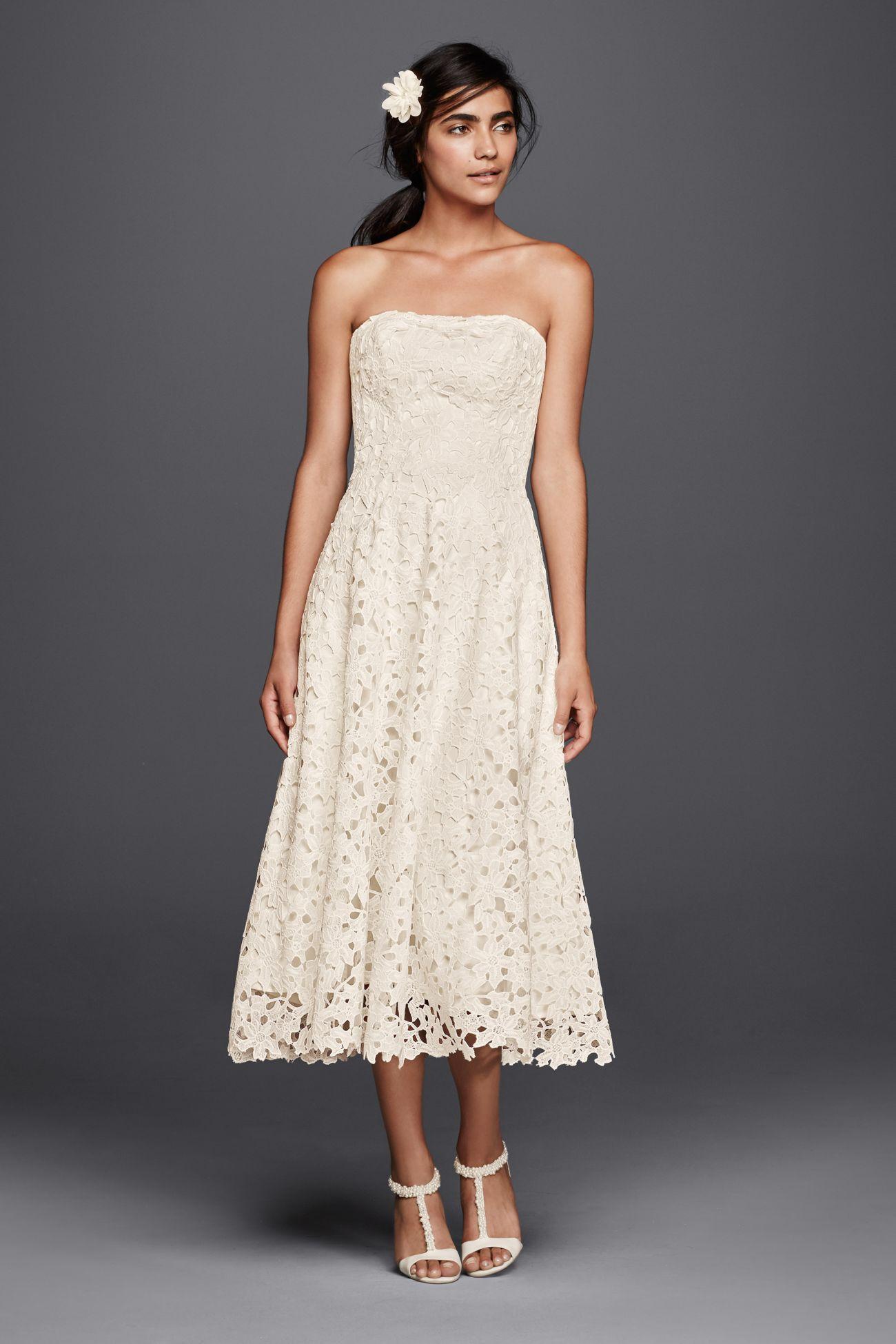 My New Favorite! www.davidsbridal.com/10512563 | MIDI dress ...