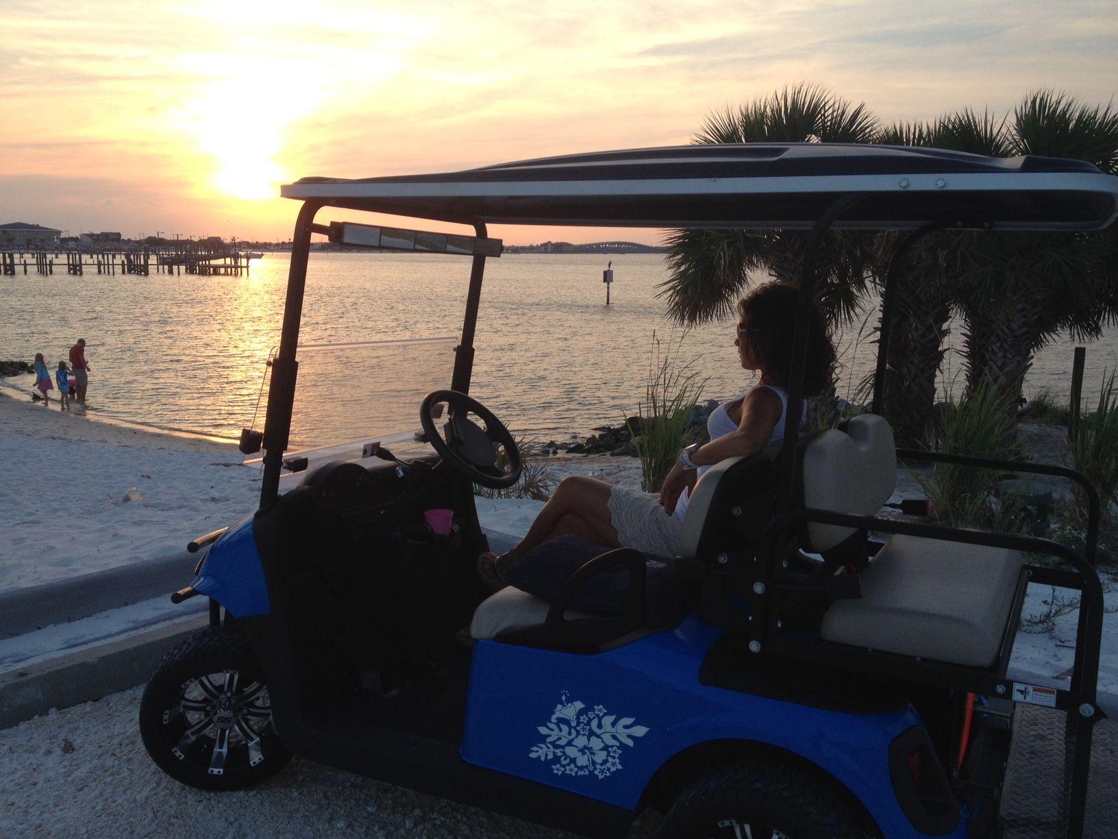 Endless summer golf cart rentals on pensacola beach golf