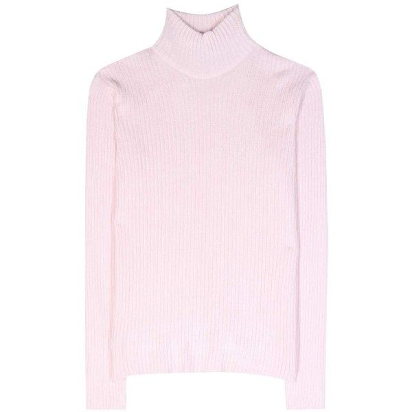 Carven Ribbed Turtleneck Sweater (3.210.965 IDR) ❤ liked on ...