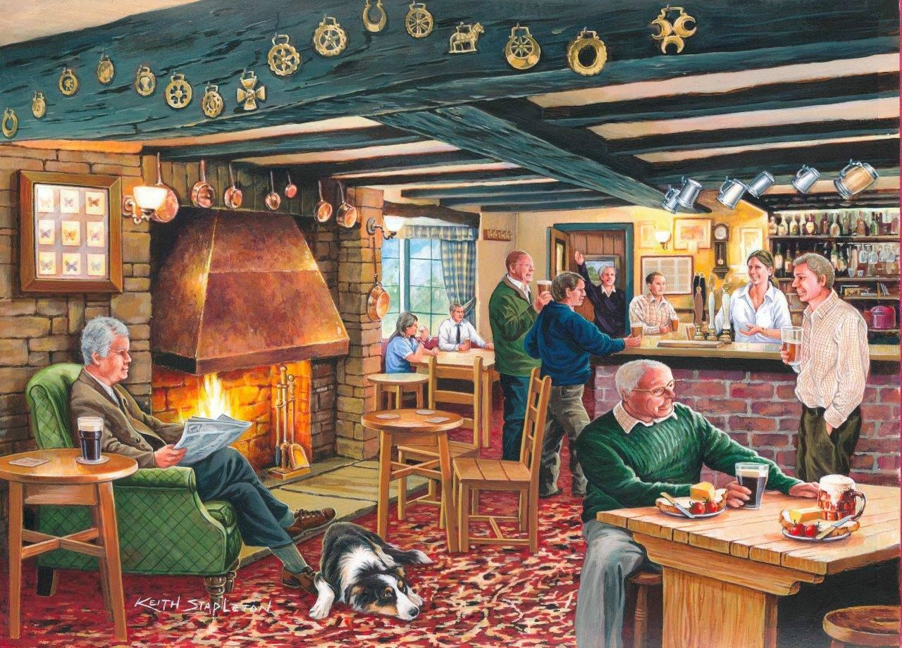 From first to last by bernard willington puzzle art