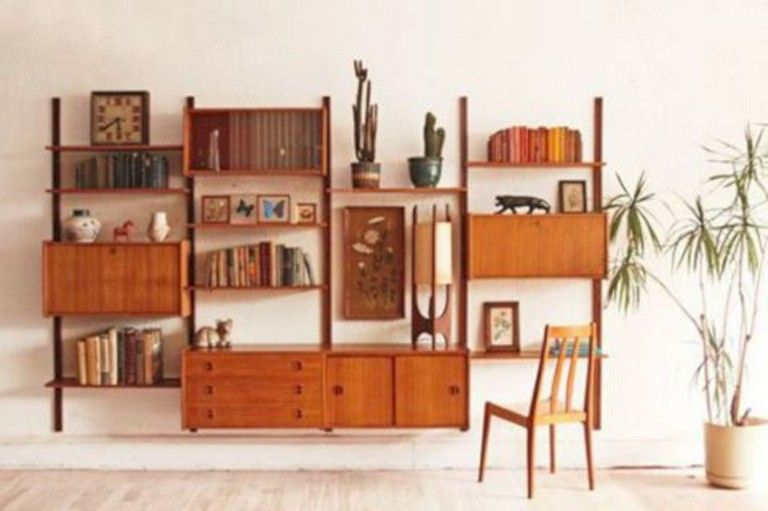 27 Smart Mid Century Modern Bookcases Ideas Youll Love Mid