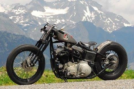 Bobber Inspiration | Harley-Davidson bobber | Bobbers and Custom Motorcycles | ba614 June 2014