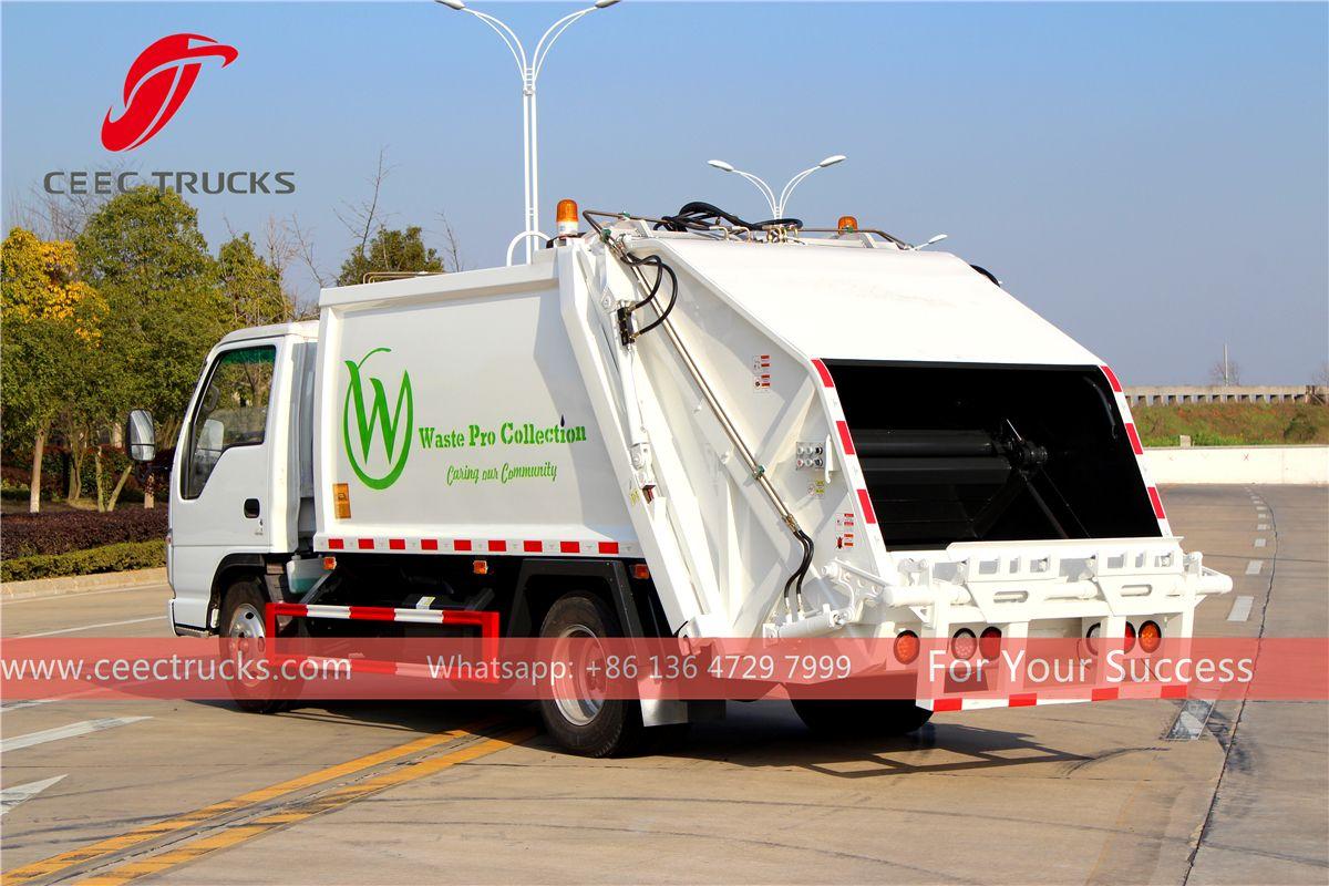 Isuzu Used Garbage Compactor Truck Trucks Rubbish Truck Compactor