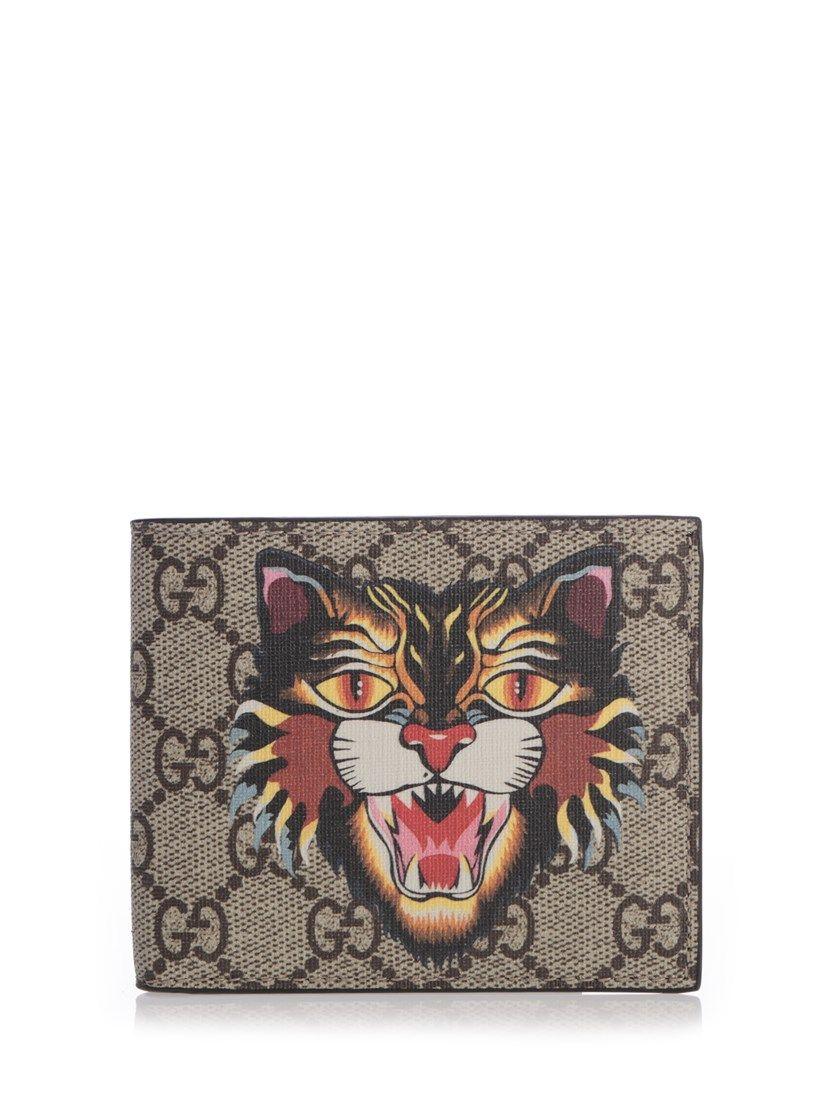 715f23f5a7af GUCCI Angry Cat Wallet. #gucci #wallets | Gucci Men
