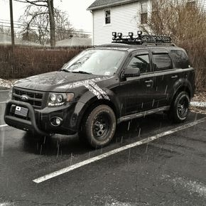 Ford Escape 4x4 Lifted Lifted Ford Escape 4x4 Vehiculo Todo