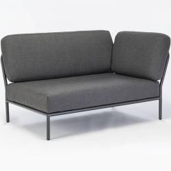 Houe Level Outdoor Sofa Lehne rechts dunkelgrau Houe