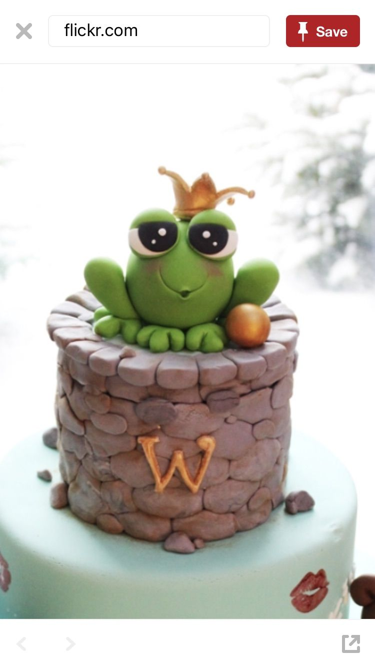 Princess and the frog cake with images frog cakes