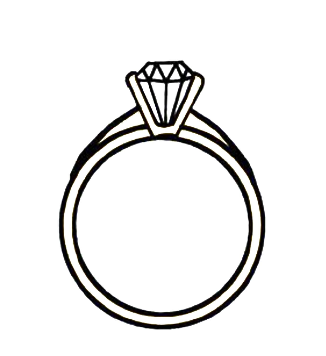Diamond Engagement Rings Clip Art 5 | Engagement Rings ...
