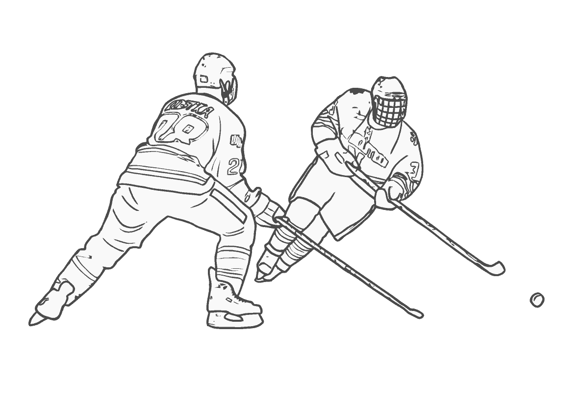 Seizure Hockey Sports Coloring Pages Coloring Pages Coloring Pages For Kids