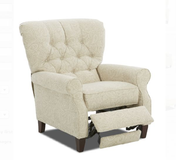 Ronan Linen Strand Recliner Woodstock Furniture Outlet