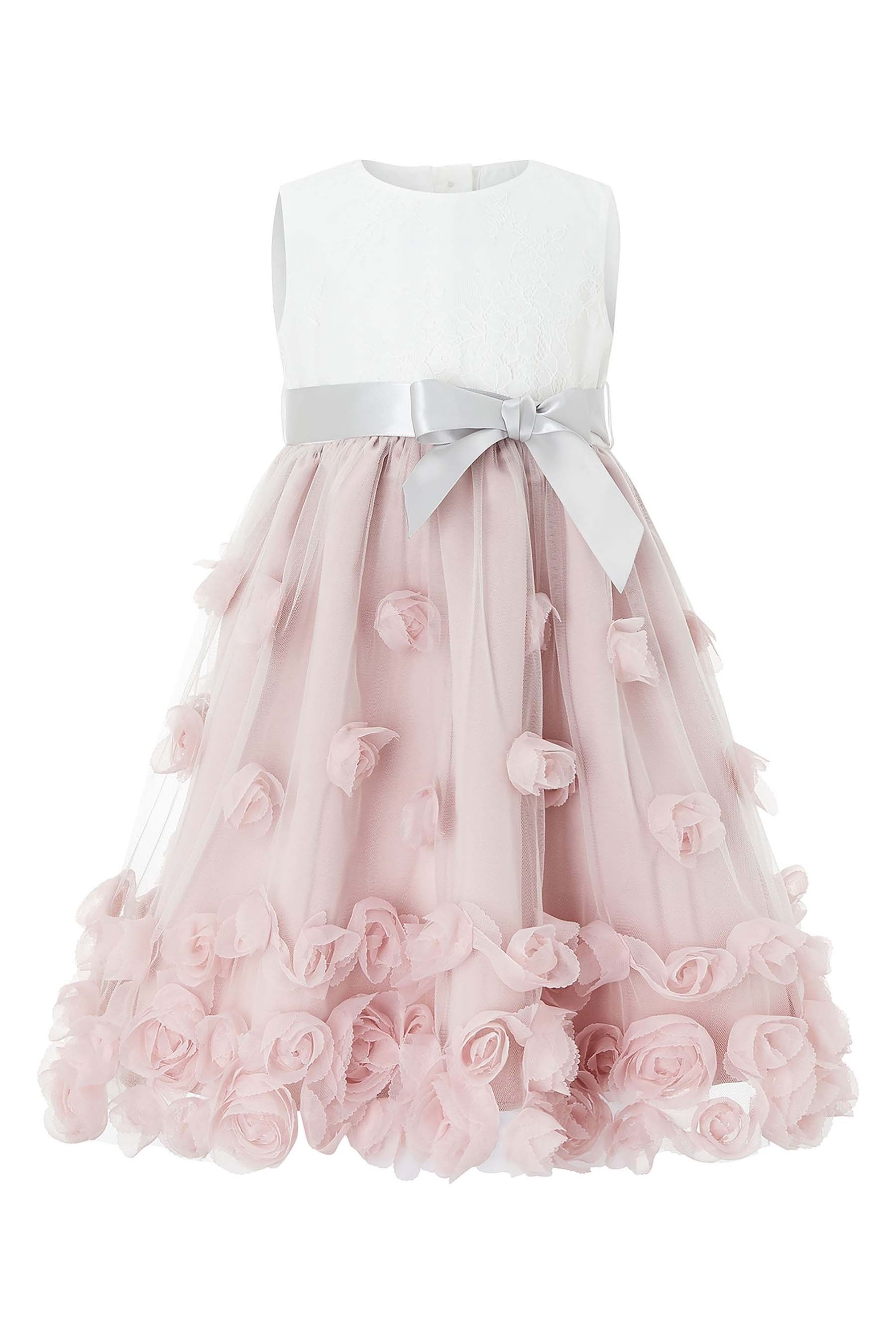 a29f942055c Girls Monsoon Dusky Pink Baby Ianthe Dress - Pink in 2019 | Products ...