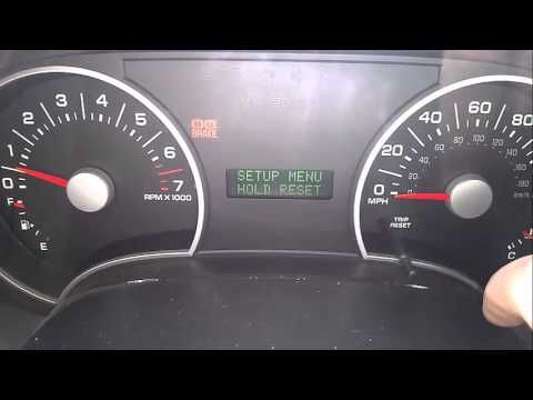 2006 Ford Explorer Oil Change Required Light Reset 2007 Ford
