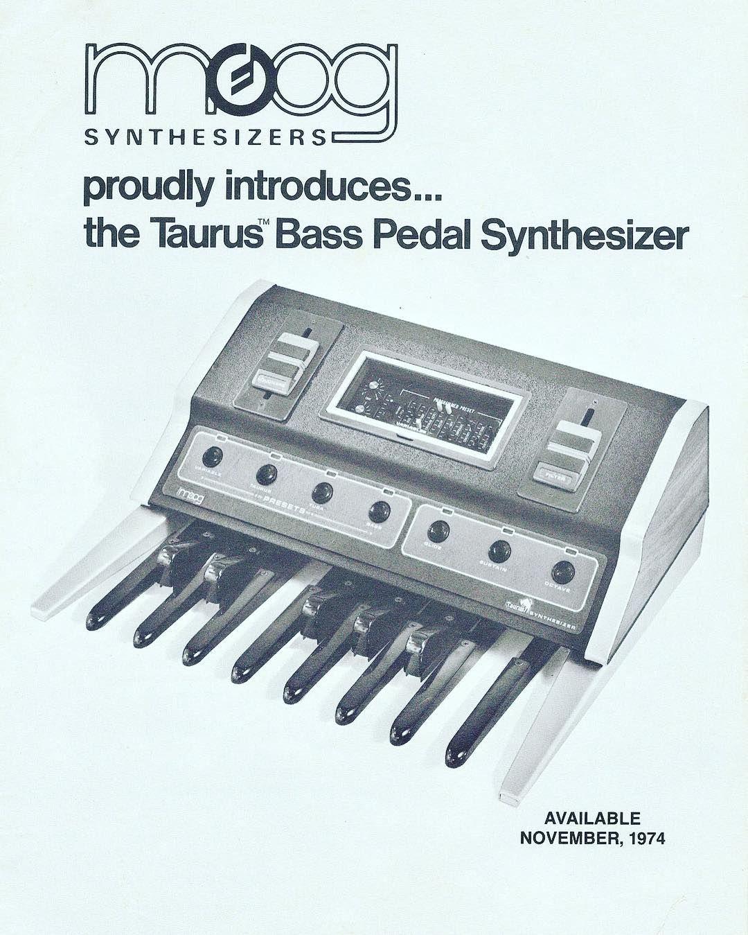 Moog Taurus #moog#taurus#moogtaurus#synth#synths#pedalbass#pedal#bass#music#gearporn#studioporn#analogue#analog#analogsynth#electronic#electronicmusic#roland#korg#oberheim#synthesizer#add#brochure by illusio_music