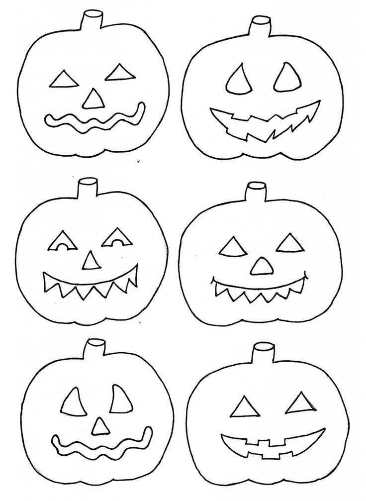 Halloween Kurbis Vorlagen Zum Ausdrucken