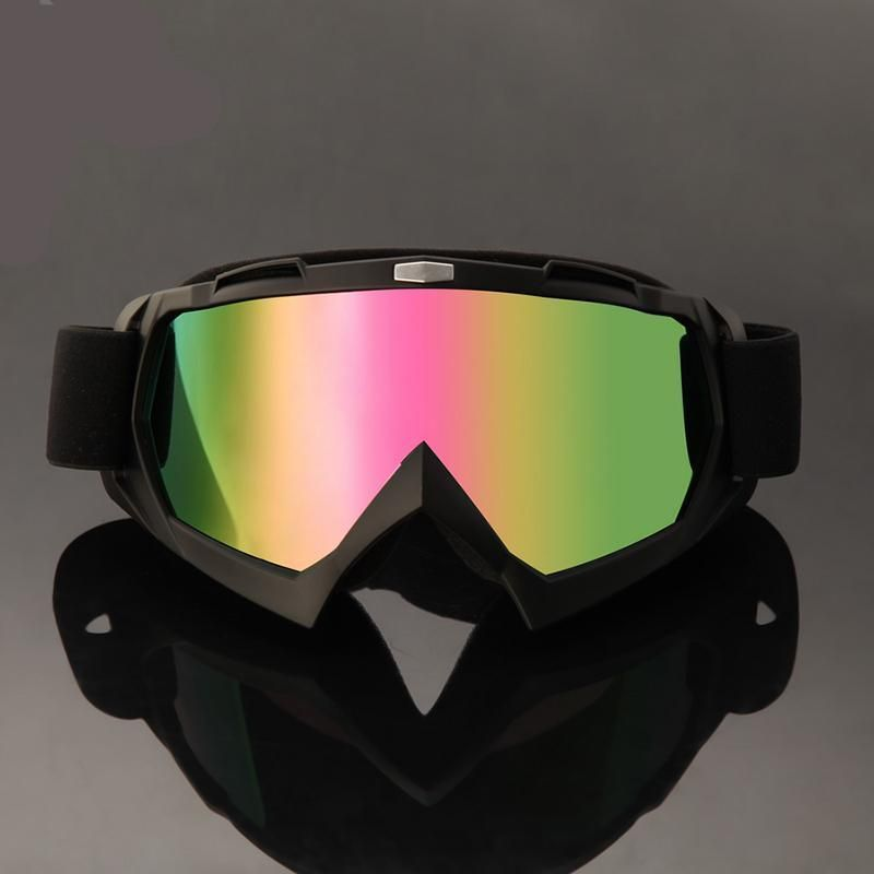 Reflective Lens Outdoor Motorcycle Goggles Motorcycle Goggles Dirt Bike Ski Glasses