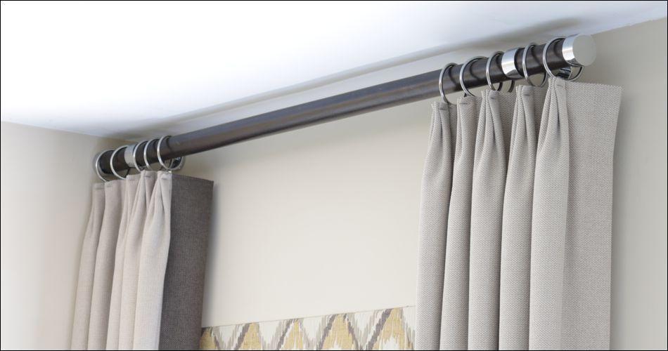 Modern Drapery Hardware Contemporary Curtain Rods Contemporary