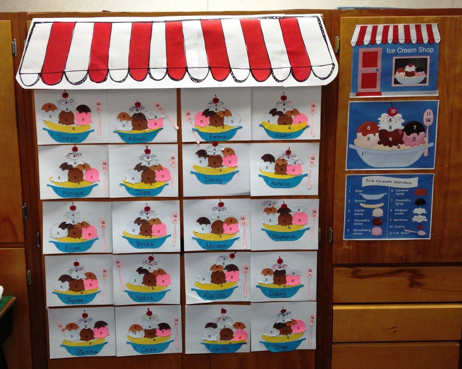 Ice Cream Shop Incentive Program On Tpt From Light Bulbs And  # Model Table Telz En Bois