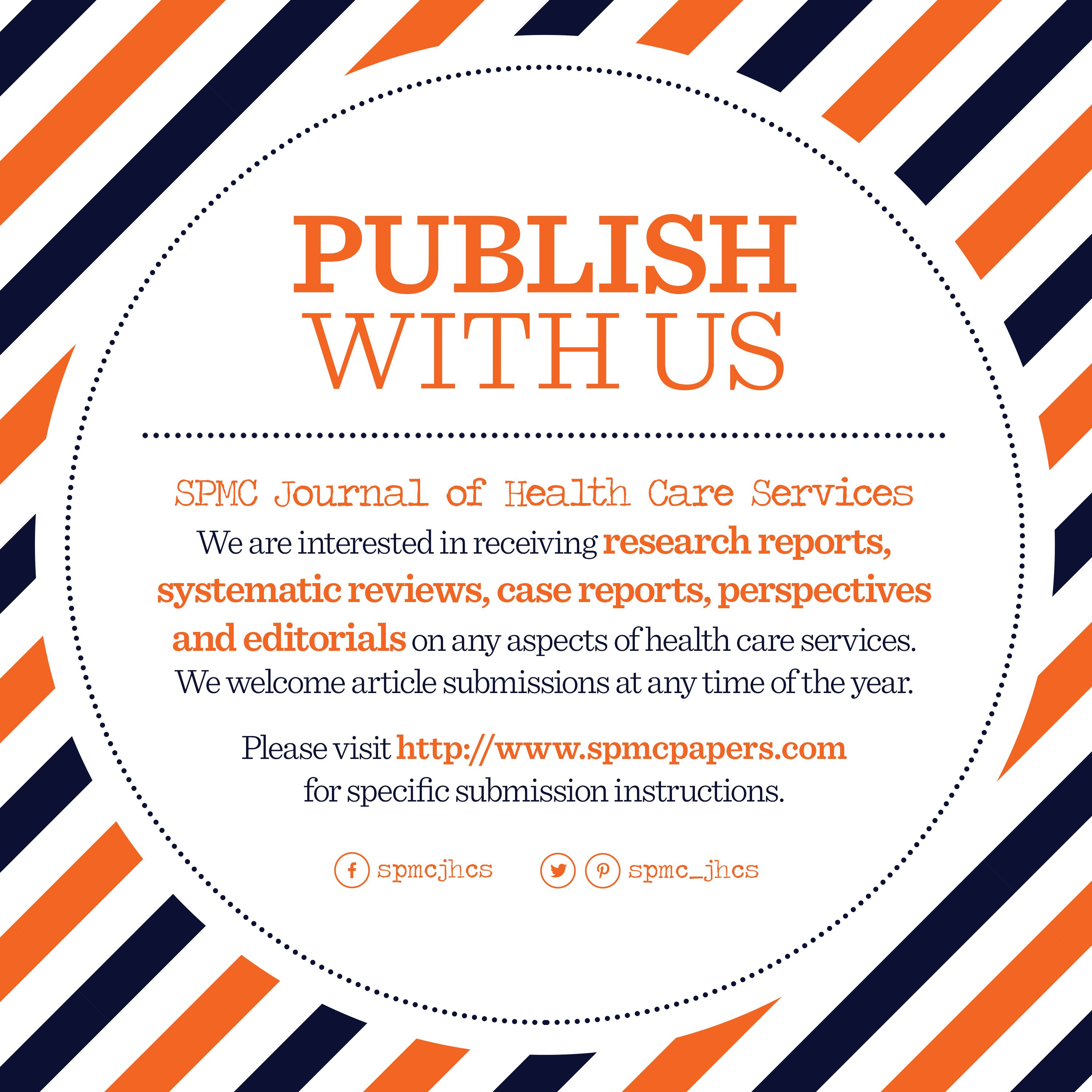 Publish With Us Health Care Services Health Care Health