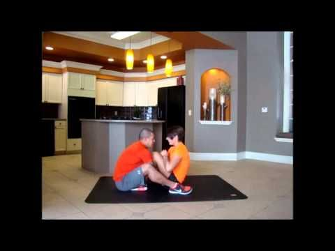 Cardio workout on Pogamat with Joshua Stebbins and Allison Hynes. Pogamat is a durable oversize yoga mat and exercise mat.  Pogamat is three times the size of a gym mat and twice as thick as a yoga mat.  Perfect for all types of personal fitness and any workout routine.  Pogamat can be used for at home fitness training or take to fitness classes.