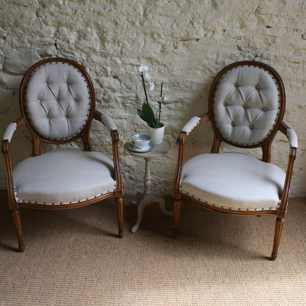 Vintage French Style Armchair