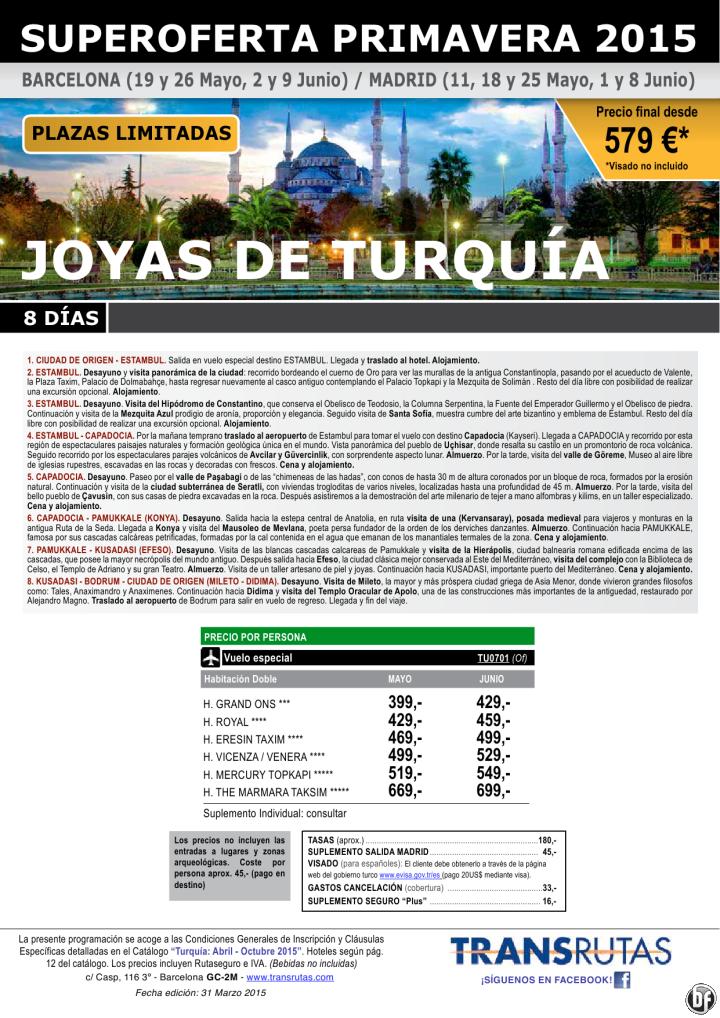 Joyas de TURQUÍA / 8 días ¡¡Superoferta Primavera: 11 mayo a 9 junio - Plazas Limitadas!! ultimo minuto - http://zocotours.com/joyas-de-turquia-8-dias-superoferta-primavera-11-mayo-a-9-junio-plazas-limitadas-ultimo-minuto/