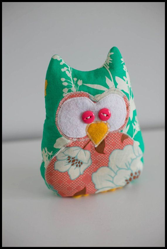 Owl Cold Pack - Rice on Etsy, $10.00